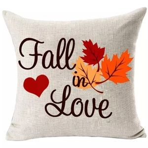 Other - Fall In Love Pillow Cover